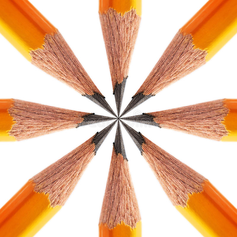Free Pattern Of A Sharpened Pencil Stock Images - 54313014