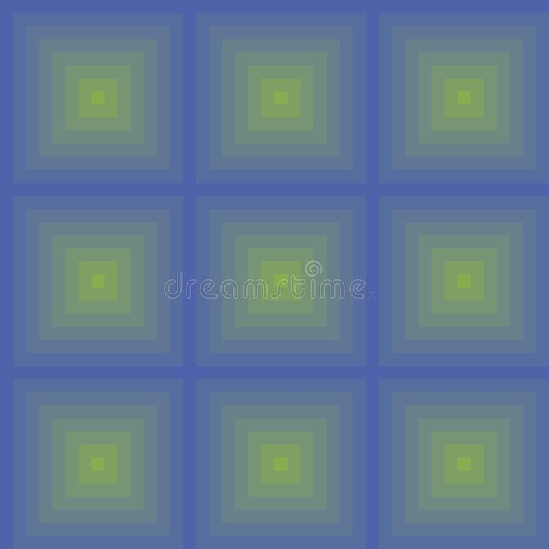 Seamless gradient squares pattern made with solid colors for best printing royalty free stock image