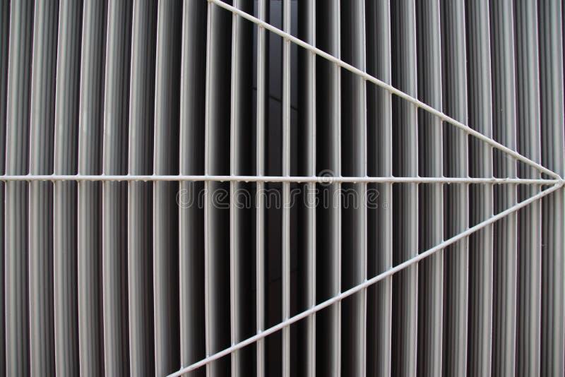 Pattern on the outside of a heat exchanger of power station in Nieuwerkerk aan den IJssel. Pattern on the outside of a heat exchanger of power station in royalty free stock photography