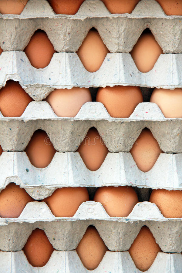 Download Pattern of packs of egg stock photo. Image of aliment - 21862992