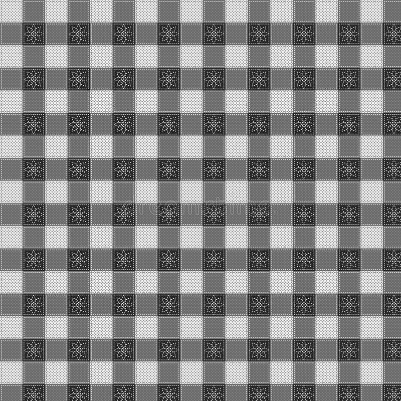 Pattern Picnic Tablecloth Vector Royalty Free Stock Photo
