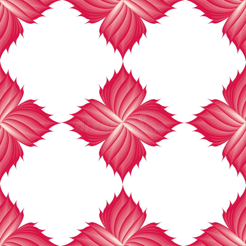 Pattern of pink flowers. royalty free stock image