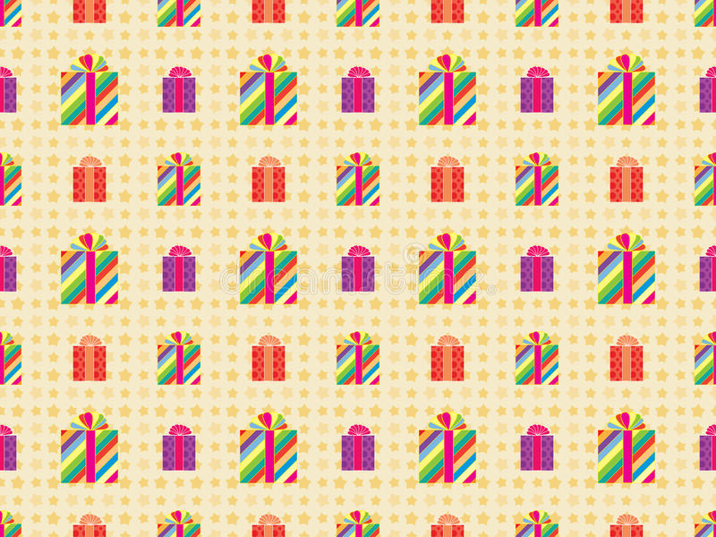 Download Pattern with presents stock image. Image of color, seamless - 29497471