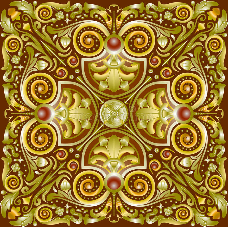 Pattern quadrate royalty free stock image
