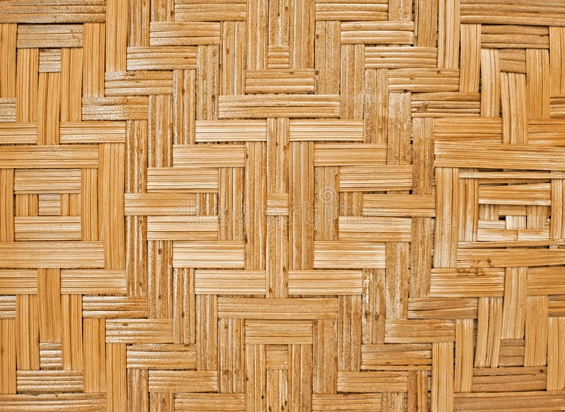 Pattern Of Rattan Weave Stock Photography
