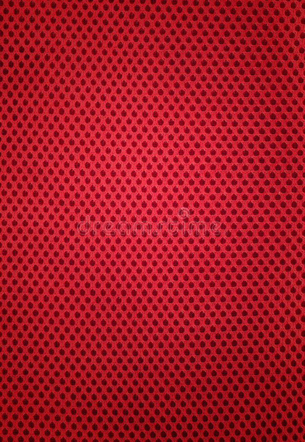 Pattern of red fabric royalty free stock photography