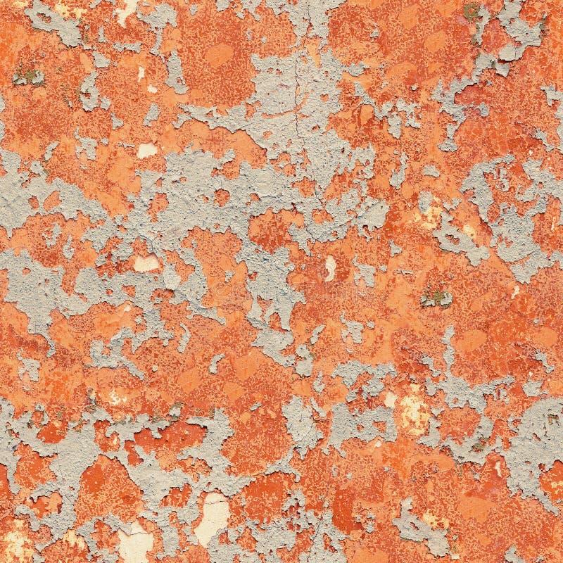 Pattern of rustic orange grunge material. Seamless texture stock photo