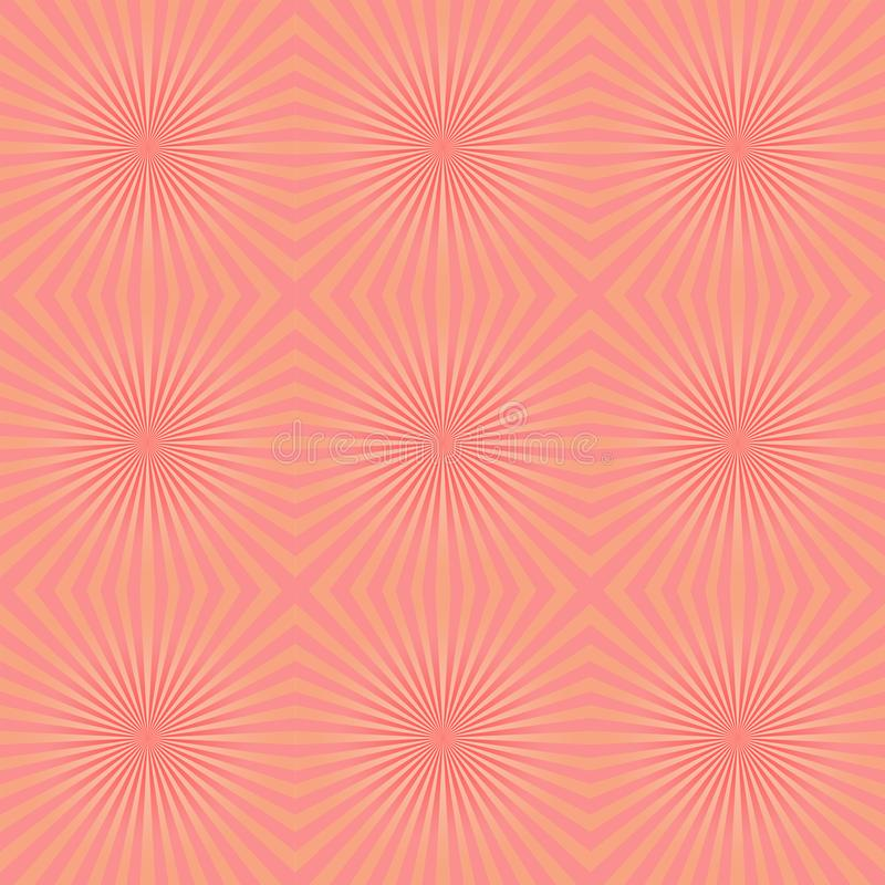 Pattern seamless of pastel color rays abstract background иллюстрация вектора