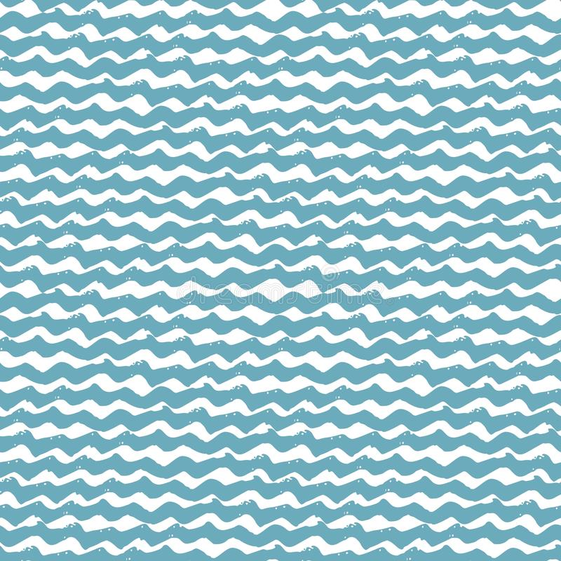 pattern seamless water 皇族释放例证