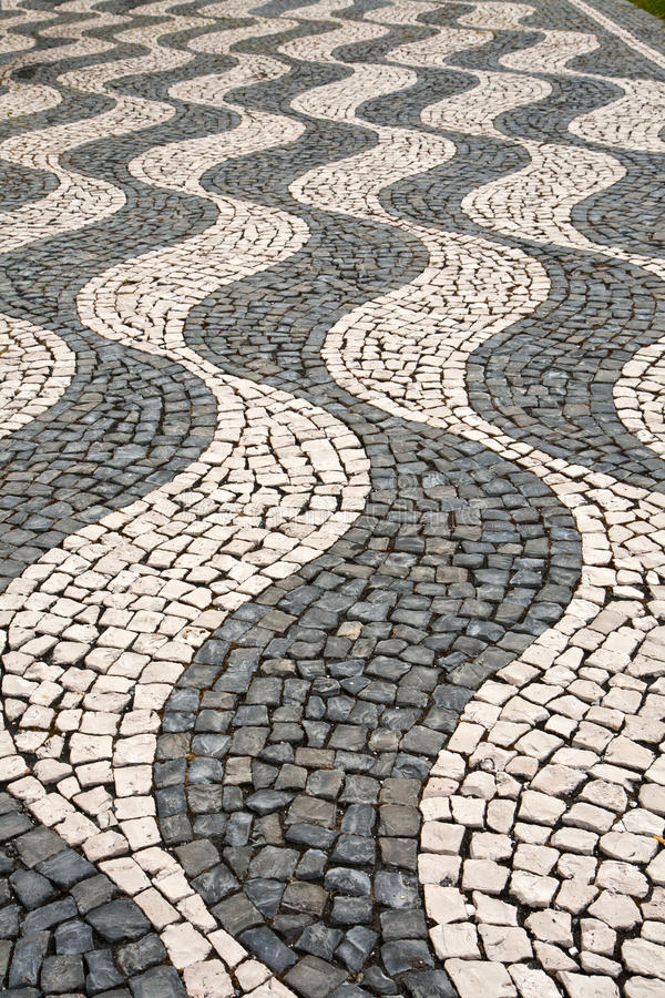 Download The Pattern On The Sidewalk Stock Photo - Image: 25754254