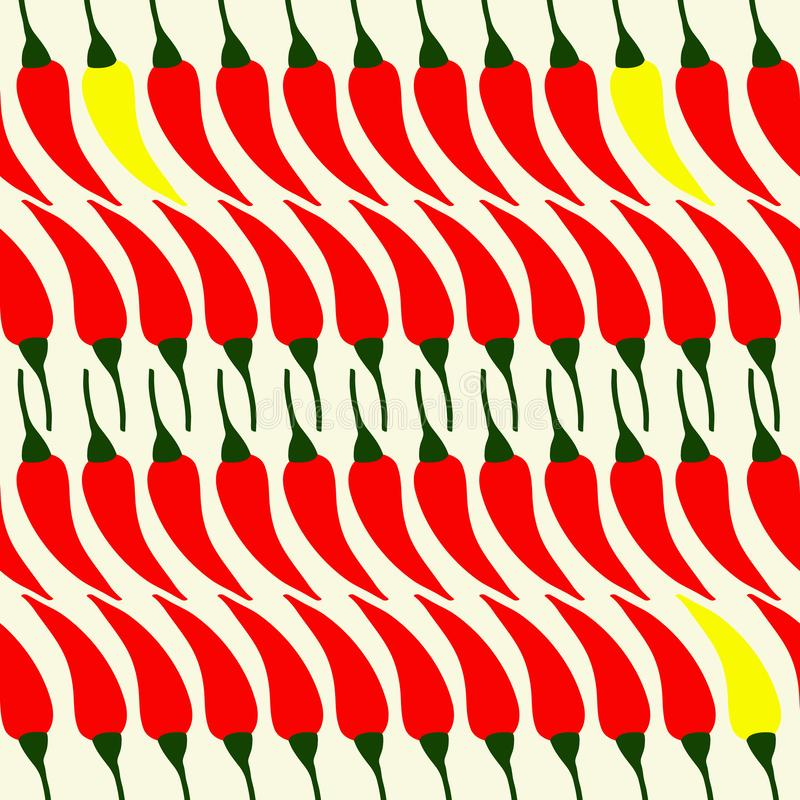 Pattern of simple. Color illustrations stock illustration