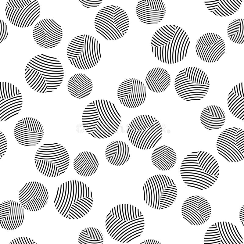 The pattern of a single color crossed circles.Circles of parallel lines.Template to use.Transparent circles.Design.Abstract royalty free illustration