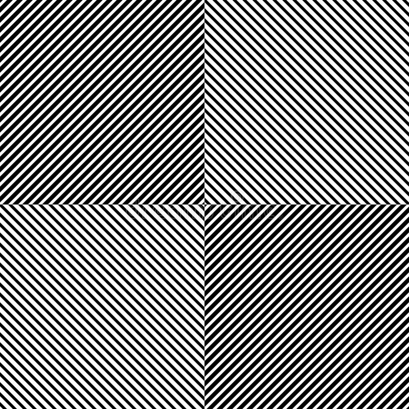 Pattern with slanting, diagonal lines - Straight, parallel obliq royalty free illustration