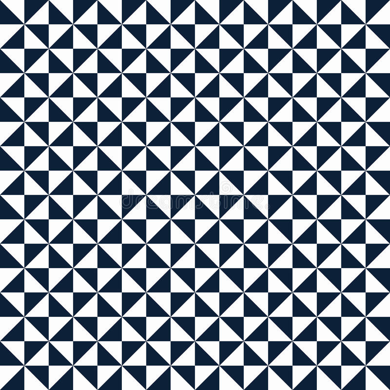 Pattern with small triangles royalty free illustration