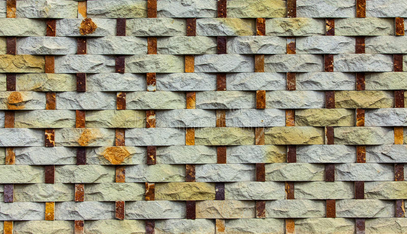 Pattern of stone wall background royalty free stock images