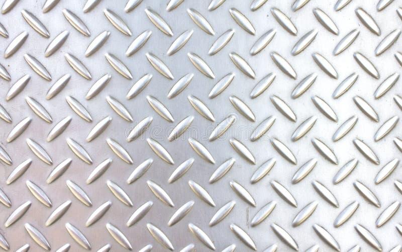 Pattern style of steel floor stock image