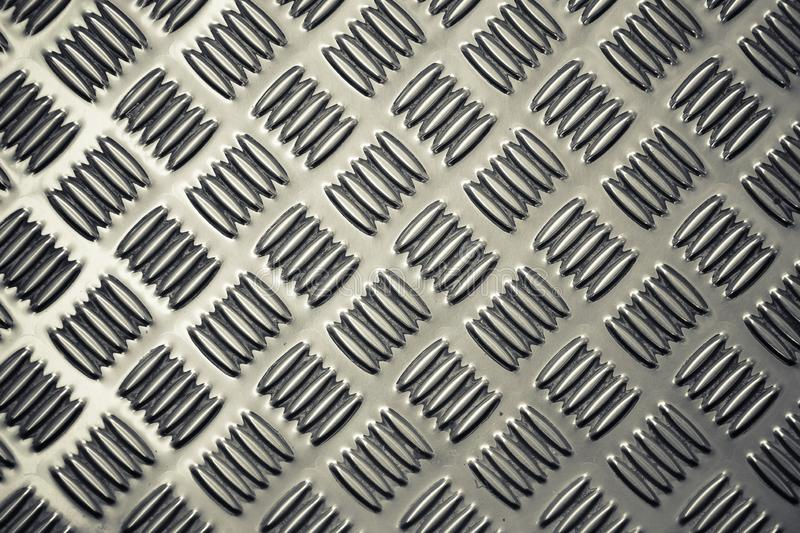 Pattern style of Steel floor background royalty free stock images