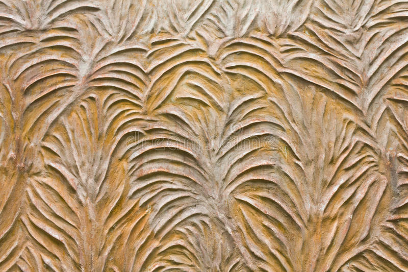 Pattern style on the wall royalty free stock photos
