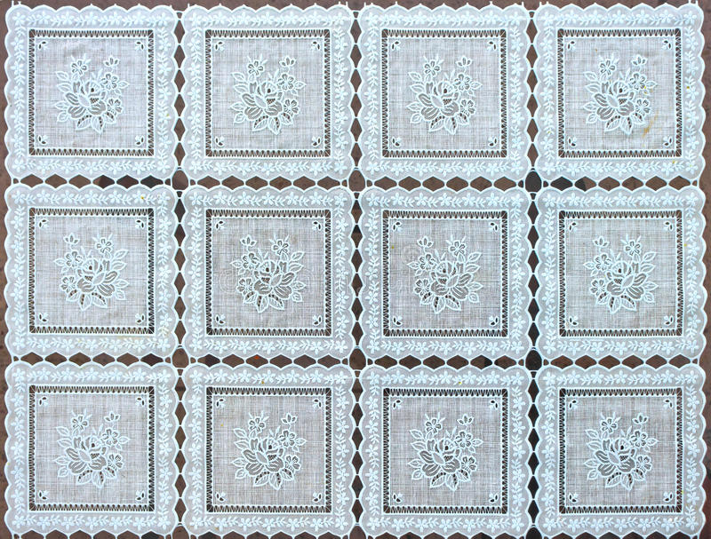 Pattern style on the wrapper royalty free stock images