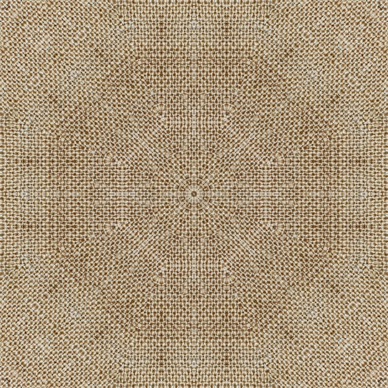 Pattern symmetry textile kaleidoscope background. seamless stock photography