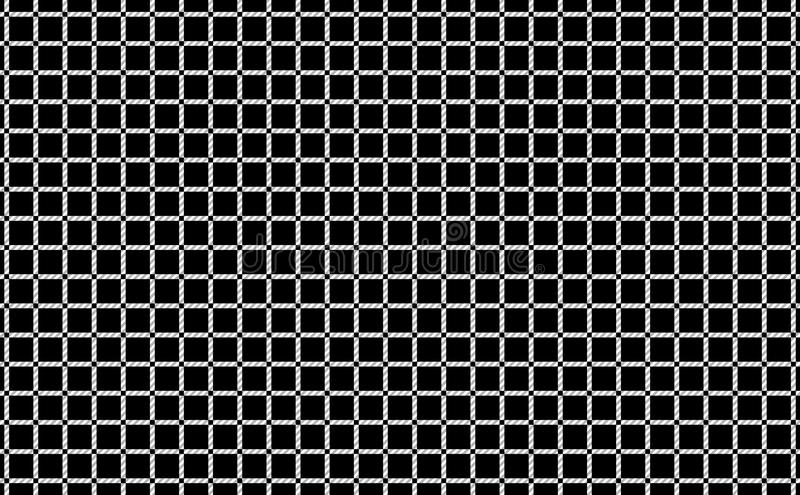 Pattern of tablecloths in black and white.Fabric Texture Background.Vector.-EPS-10 royalty free illustration