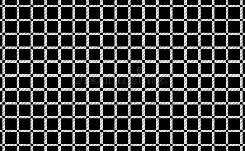 Pattern of tablecloths in black and white.Fabric Texture Background.Vector.-EPS-10 vector illustration