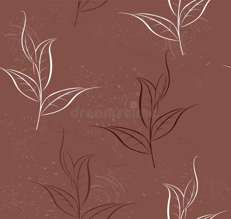 Download Pattern of tea plants stock vector. Illustration of elegant - 17350797