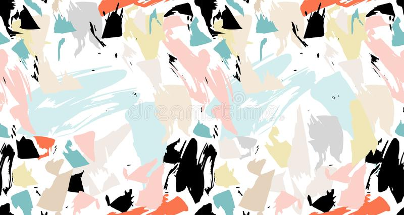 Pattern texture repeating seamless. Brush, marker, pencil stroke pattern. Abstract background. royalty free stock images