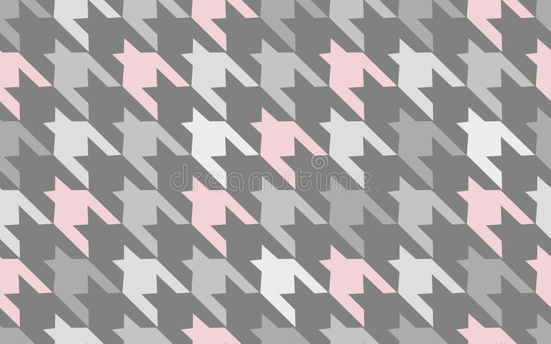 Pattern texture repeating seamless. Pink and gray spots on the background. Vector background. Repeat. stock illustration