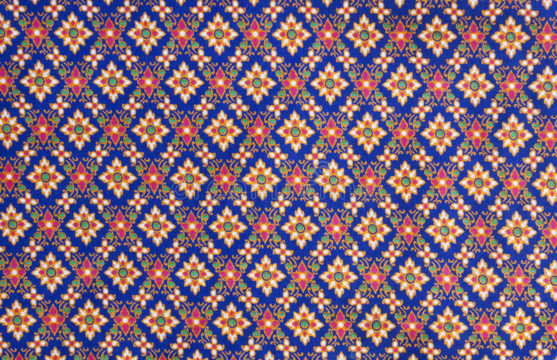 Download Pattern on thai cloth stock photo. Image of loincloth - 23959642