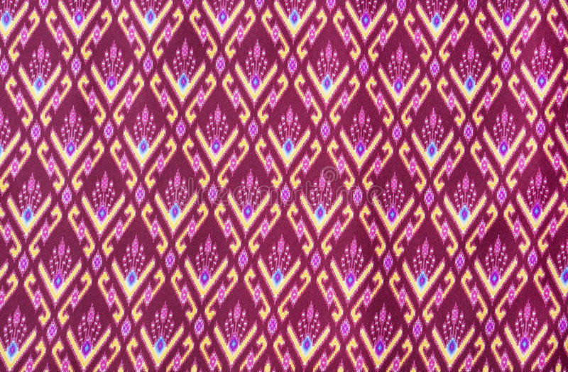 Download Pattern on thai cloth stock image. Image of clothes, decoration - 23959773