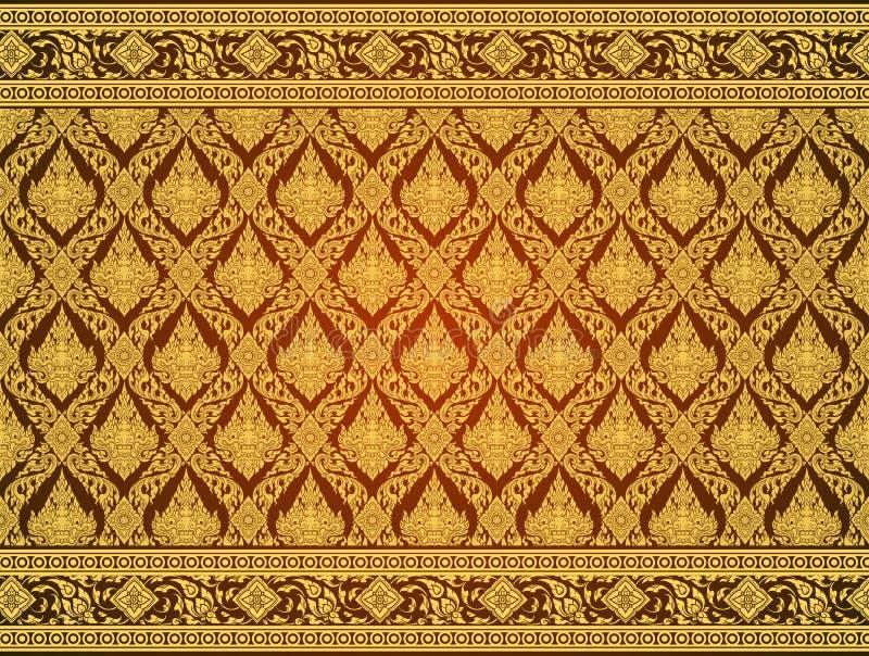 Pattern thai tradition vector. Illustrator vector illustration