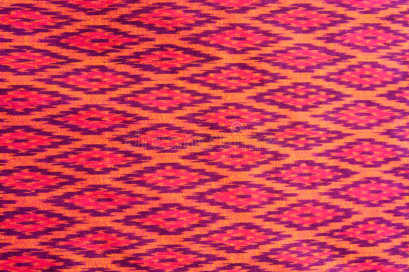 Pattern of Thailand native cloths. Textures for materials and backgrounds stock photos