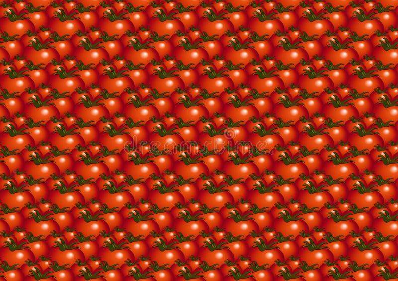 Pattern_tomato imagen de archivo