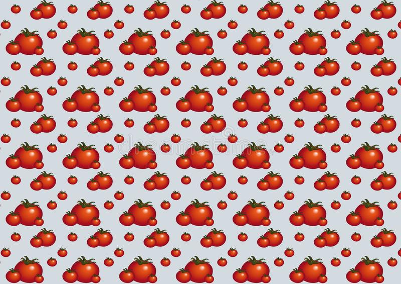 Pattern_tomato_gray image stock