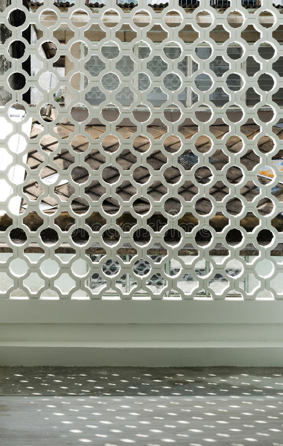 Pattern of wall facade stock photo