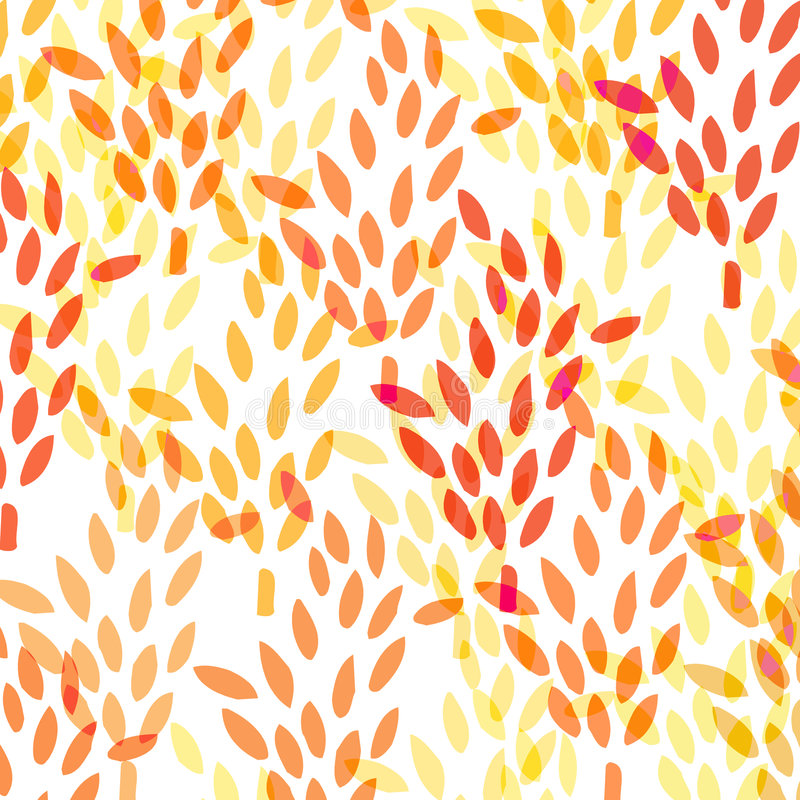Pattern with wheat stock illustration