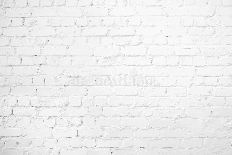 Pattern of white brick wall stock photos