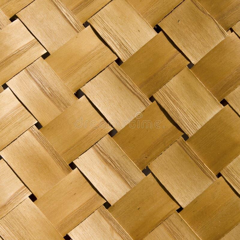 Pattern wickerwork. Pattern of wood wickerwork handmade royalty free stock photography