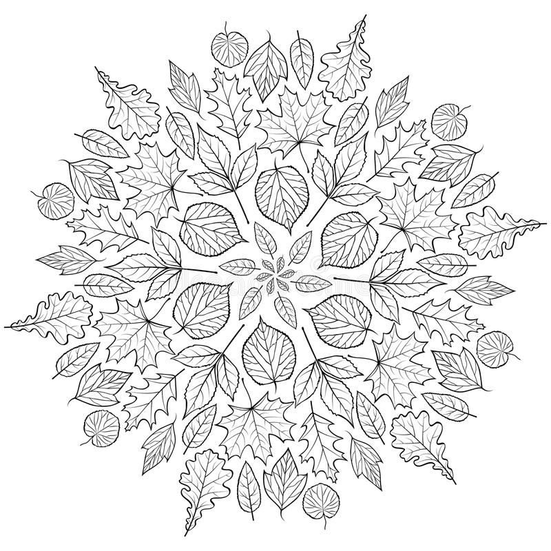 Free Pattern With Autumn Leaves Royalty Free Stock Photo - 97507805