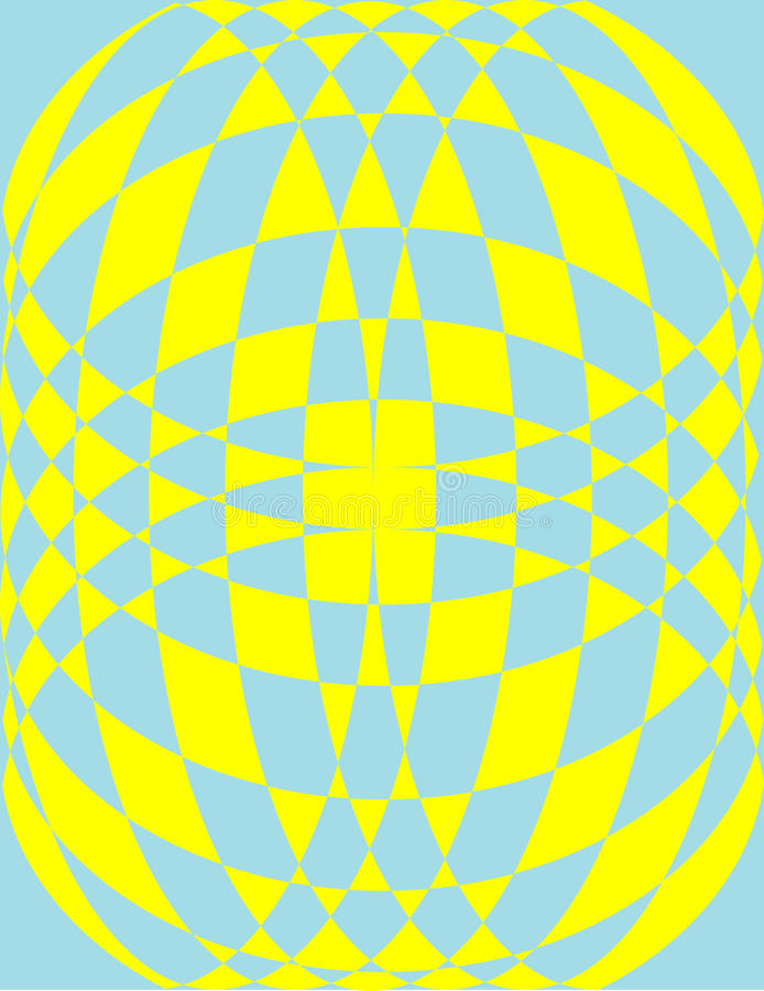 Pattern in yellow and blue royalty free stock photos