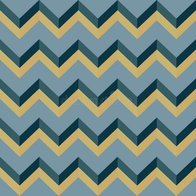 Pattern-zigzag-0007 стоковое фото