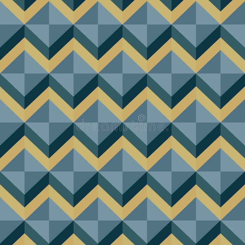 Pattern-zigzag-0011 стоковые изображения