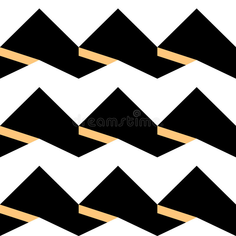Pattern-zigzag-0022 стоковое фото rf