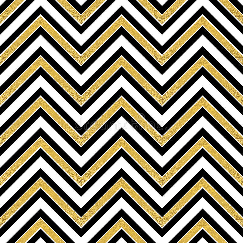 Pattern in zigzag. Classic chevron seamless pattern. Vector design royalty free illustration