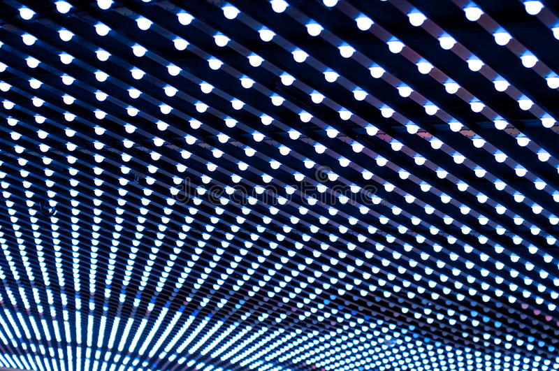 Patterned Ceiling Light royalty free stock photography