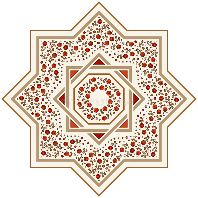 Free Patterned Floor Tile, Moroccan Pattern Stock Photography - 93857972