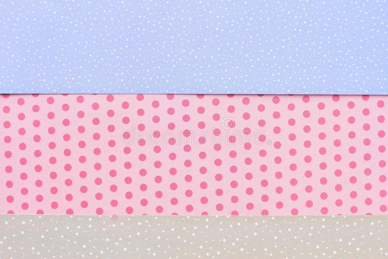 Patterned paper background for handmade craft. royalty free stock photography