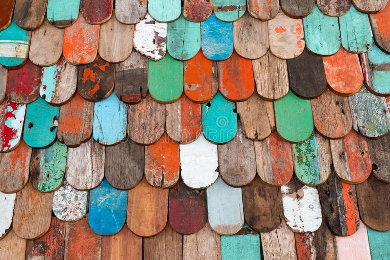 Abstract grunge wood texture background. Patterned and textures background of brightly colored panels of weathered painted wooden boards abstract grunge wood royalty free stock photography