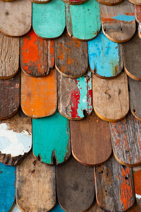 Abstract grunge wood texture background. Patterned and textures background of brightly colored panels of weathered painted wooden boards abstract grunge wood royalty free stock photo